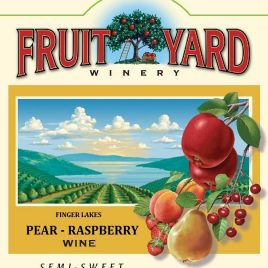 Pear-Raspberry